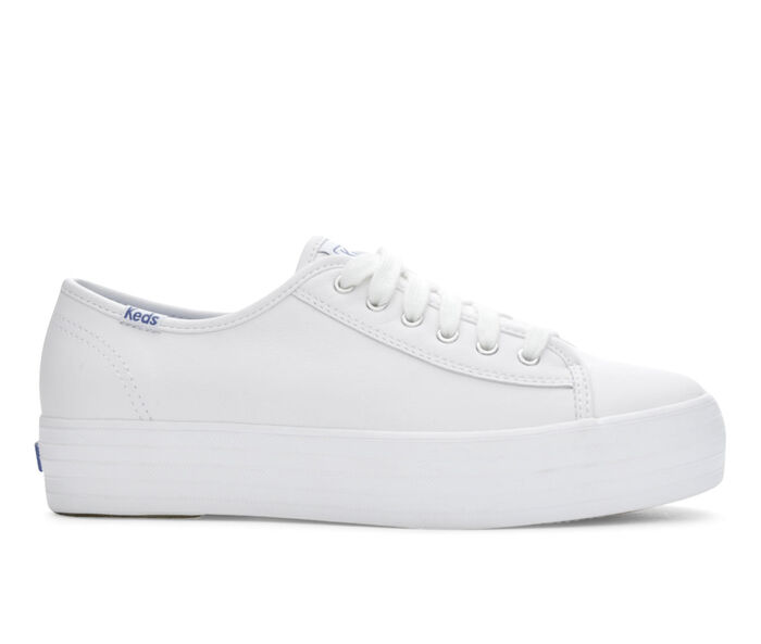 Women's Keds Triple Kick Leather Sneakers