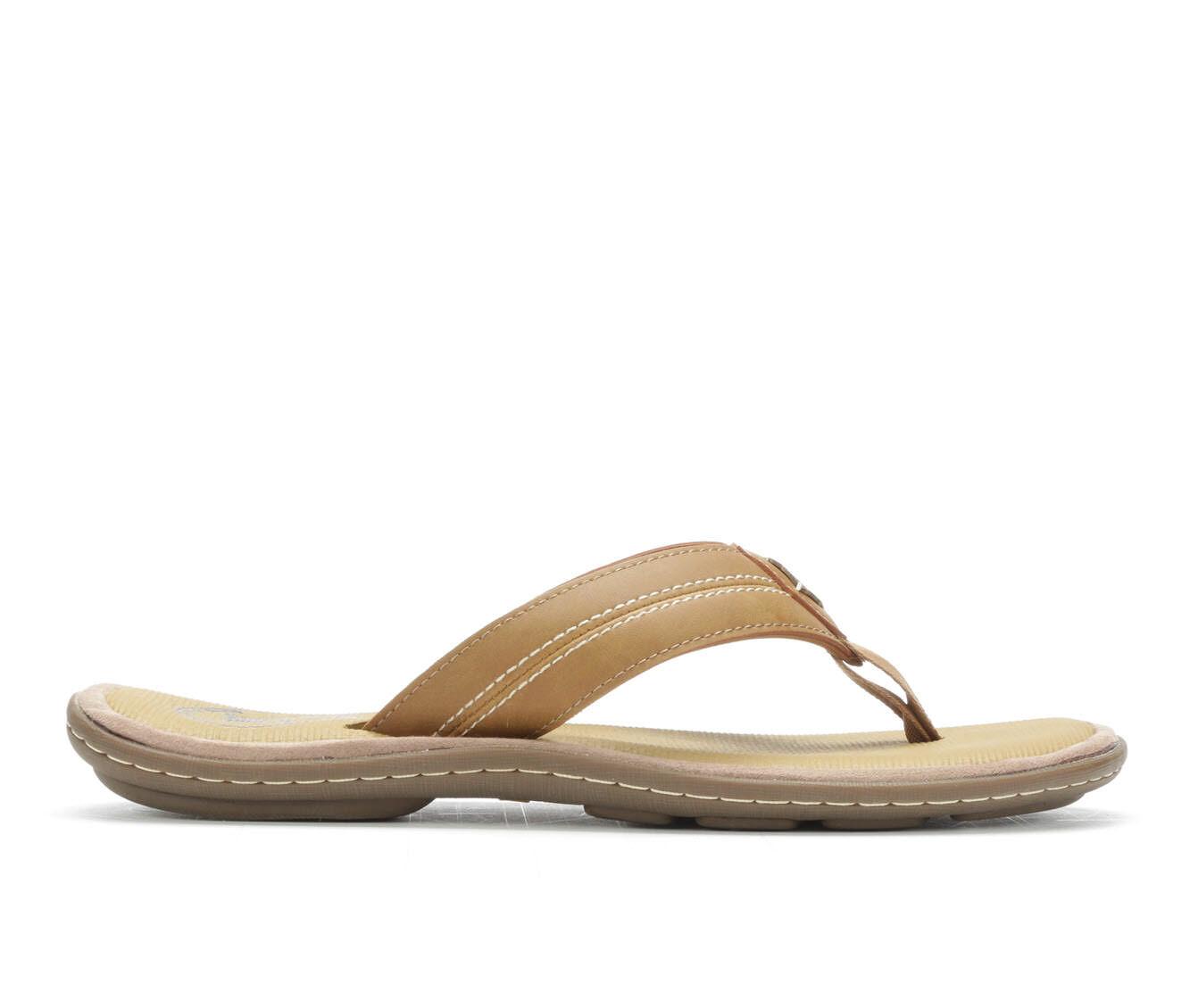 Best Buy Men's Margaritaville Caymen Flip-Flops Tan