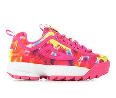 Girls' Fila Big Kid Disruptor II Tie Dye Sneakers
