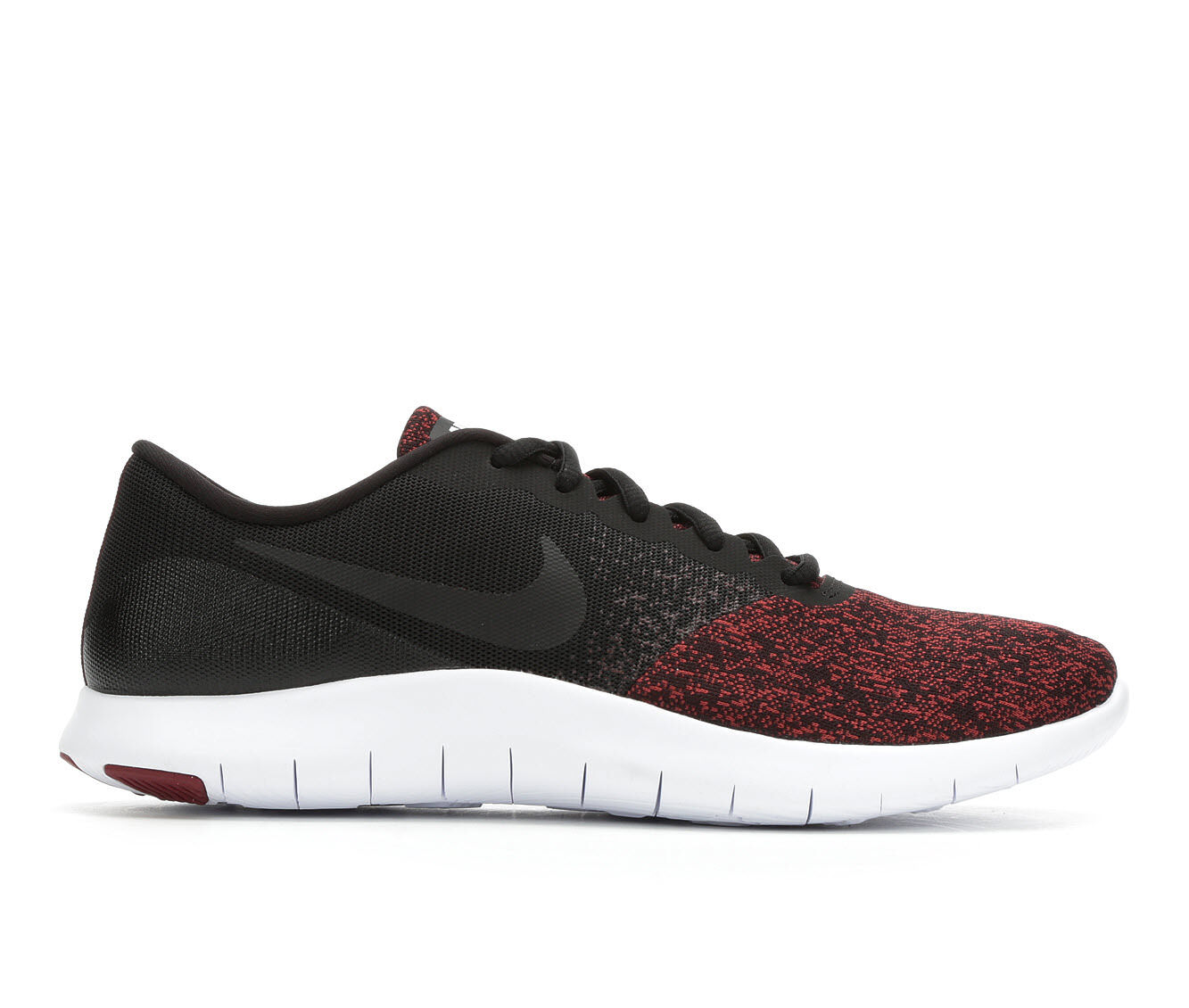 buy authentic Men's Nike Flex Contact Running Shoes Blk/Blk/Red