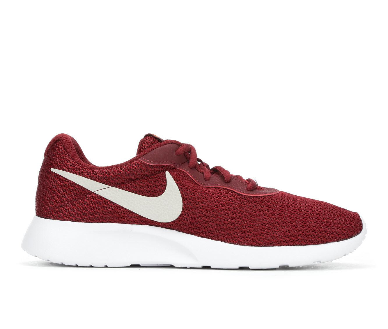Men's Nike Tanjun Sneakers Red/Wht/Org 602