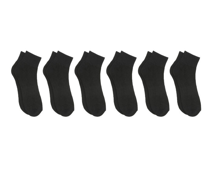 Sof Sole Socks Adults 6 Pair Quarter Length Socks