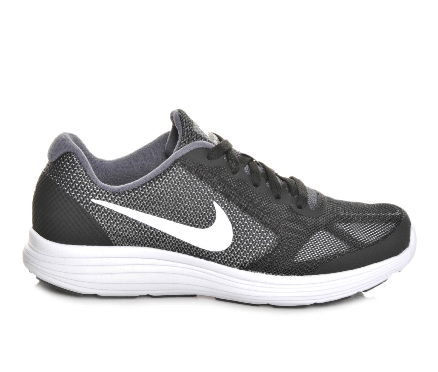 boys nike revolution 3 3 5 7 running shoes
