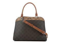 Nine West Lillie Dome Satchel Handbag