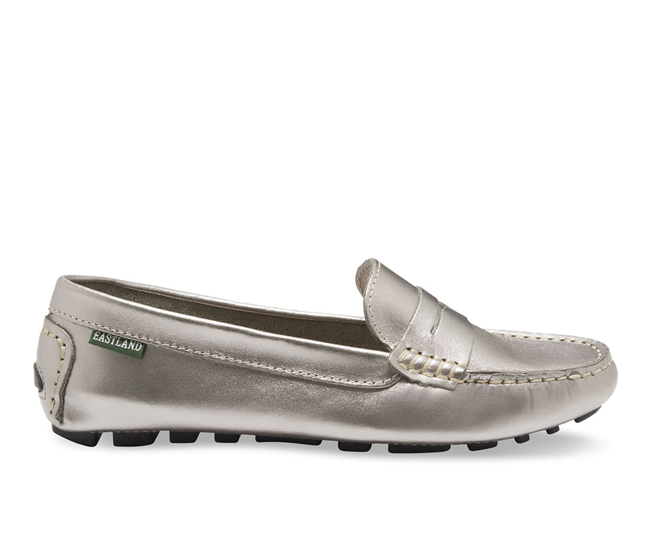 Women's Eastland Patricia Penny Loafers Silver