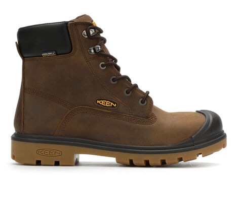 Men's KEEN Utility Baltimore 6 In Non-Steel Waterproof Work Boots