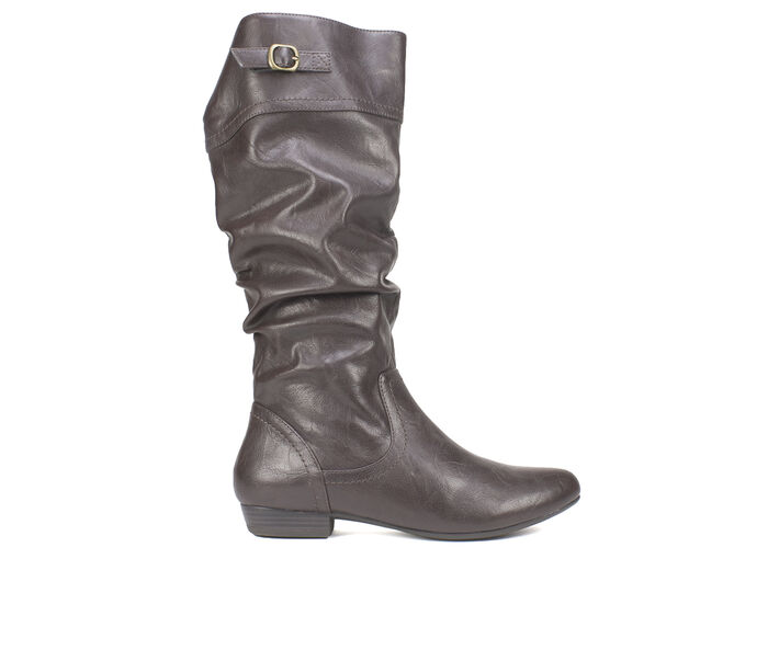 Women's Cliffs Fox Ruched Knee High Boots