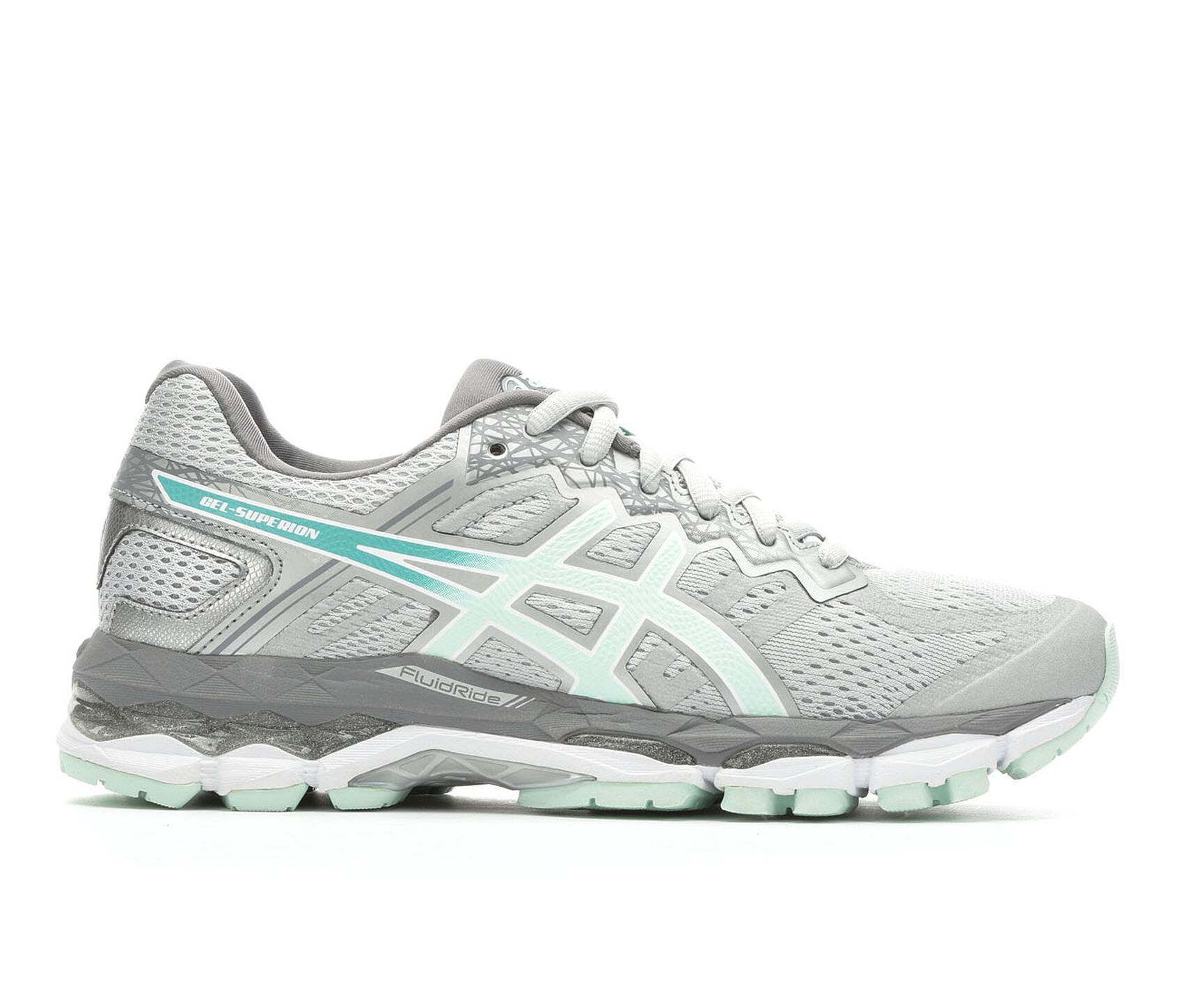 Asics Teal Running Shoes