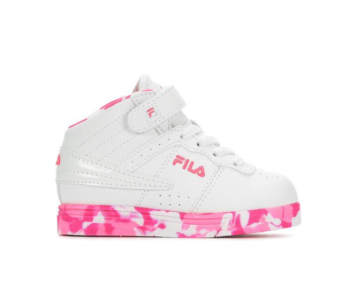 Girls' Fila Toddler Vulc 13 Mid Plus Mashup Athletic Shoes