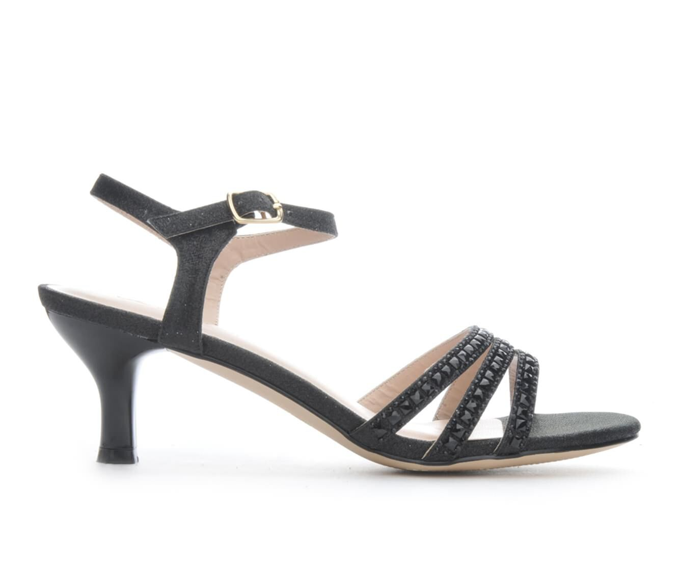 Women's LLorraine Berkly Heeled Dress Sandals Black