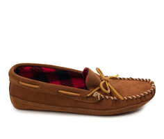 Minnetonka Double Bottom Fleece Moc Slippers