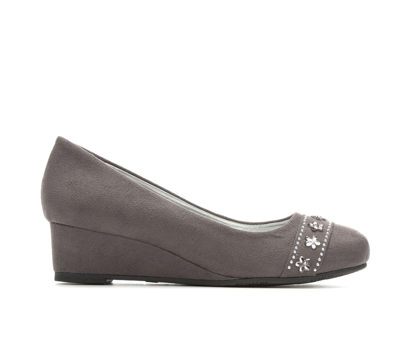 Girls  MIA Little Kid   Big Kid Jamile Wedge Dress Shoes  b710d98556e9