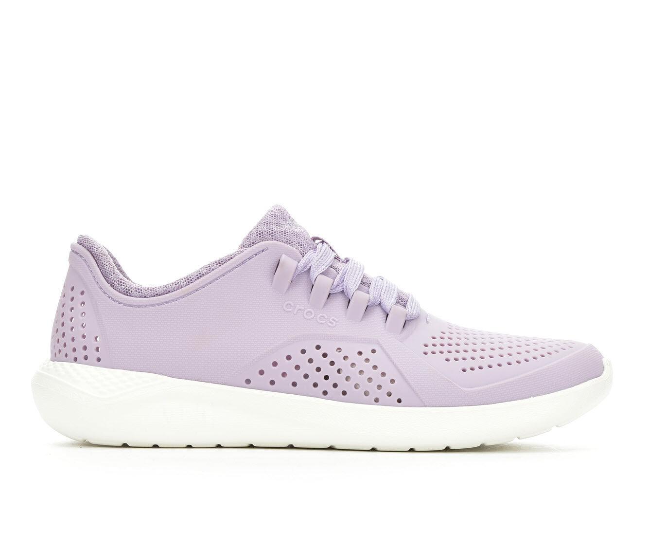 Women's Crocs LiteRide Pacer Lavendar/Wh