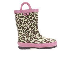 Girls' Western Chief Little Kid & Big Kid Sweet Cheetah Rain Boots
