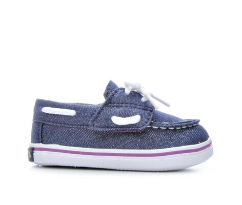 Girls' Sperry Seabright Crib 1-4 Boat Shoes