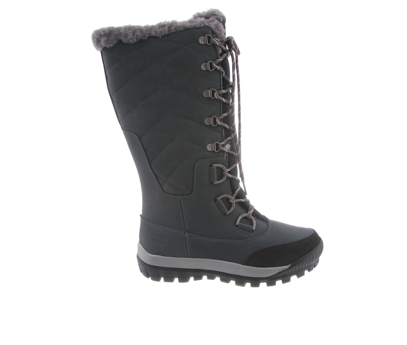 get comfortable cheap Women's Bearpaw Isabella Winter Boots Charcoal