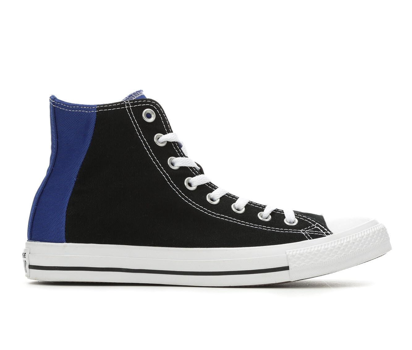 Lowest Price Men's Converse CTAS Patch Me Through High-Top Sneakers Blk/Blu/Wht