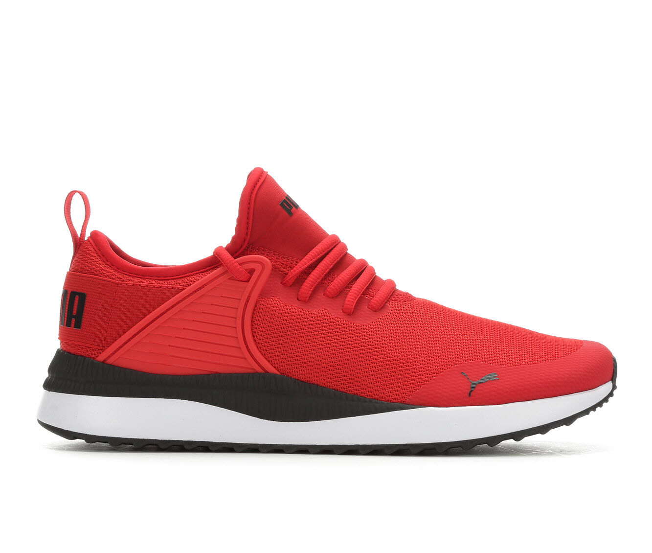 new style Men's Puma Pacer Next Cage Sneakers Red/Black/White