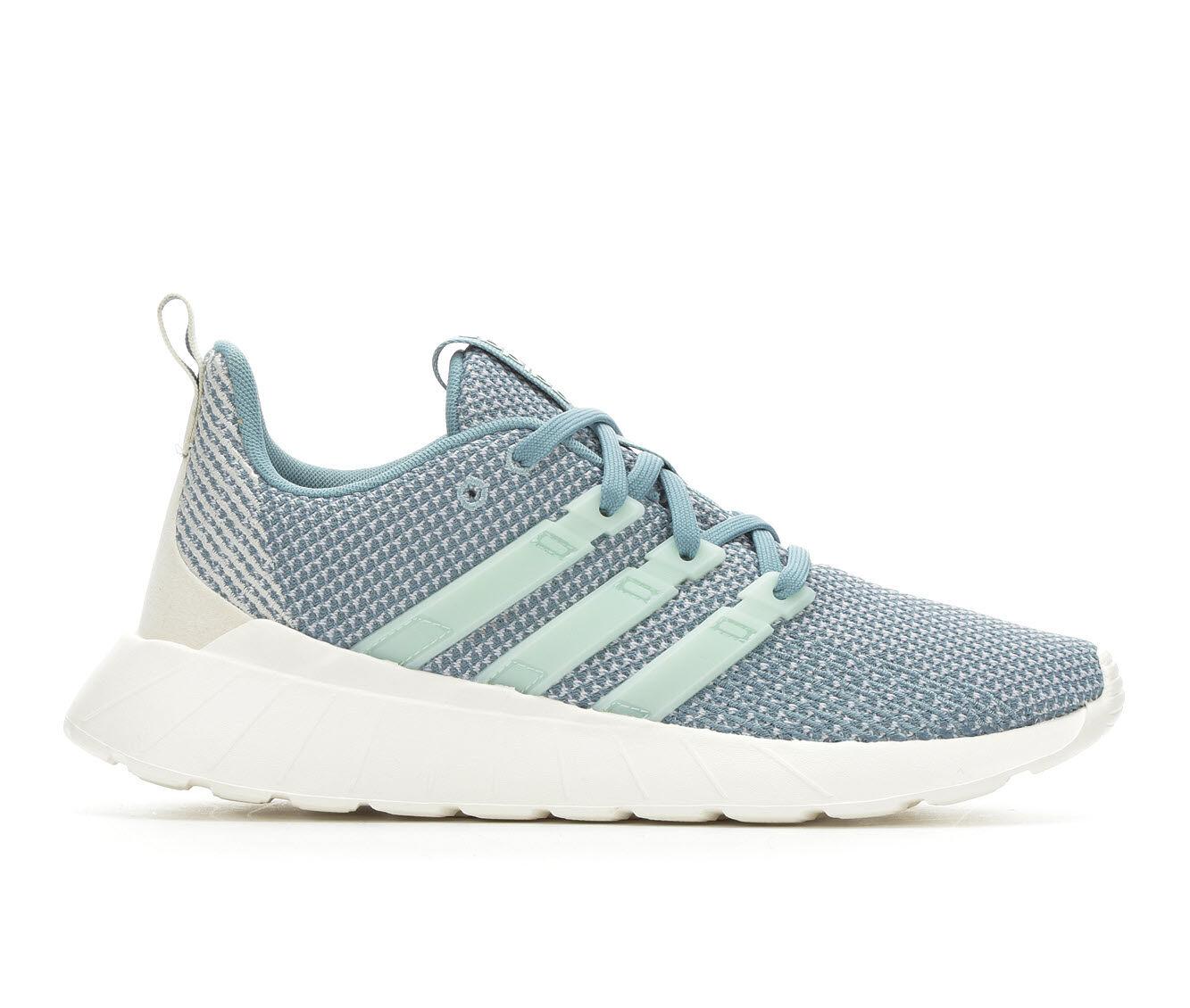 Women's Adidas Questar Flow Sneakers Grey/Mint/Wht