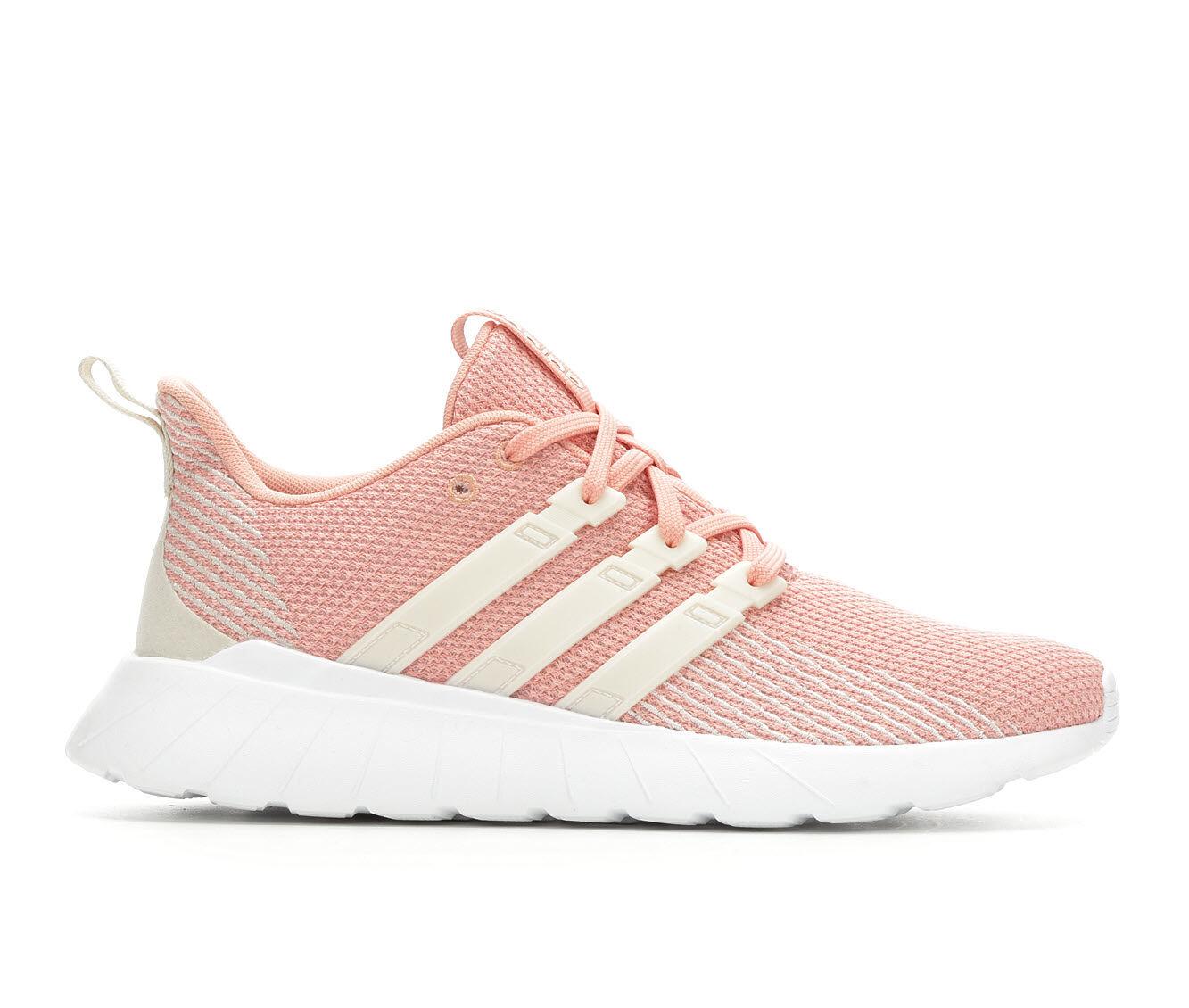 Women's Adidas Questar Flow Sneakers Dust Pink/White