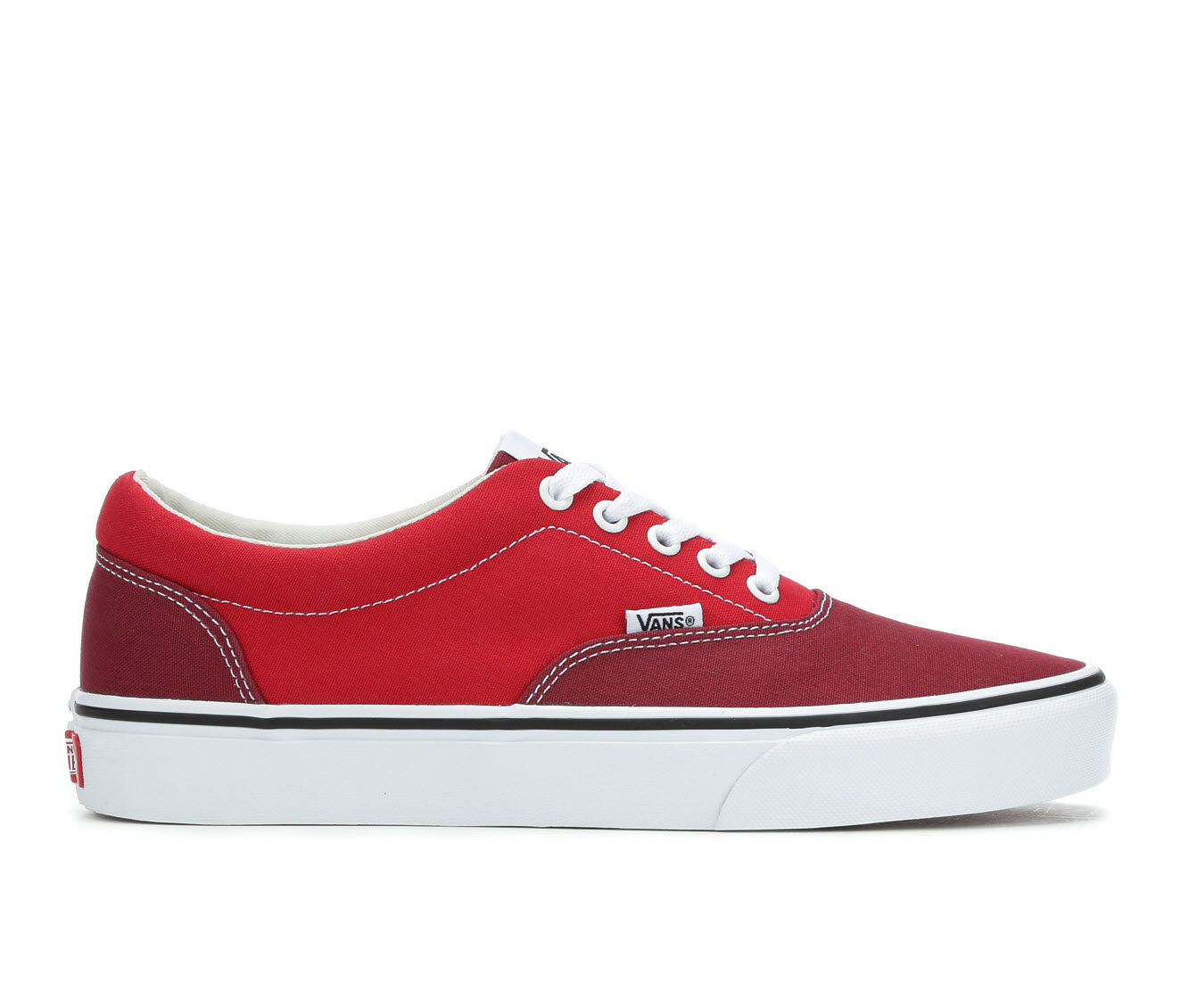 Men's Vans Doheny Skate Shoes Red/Burgundy