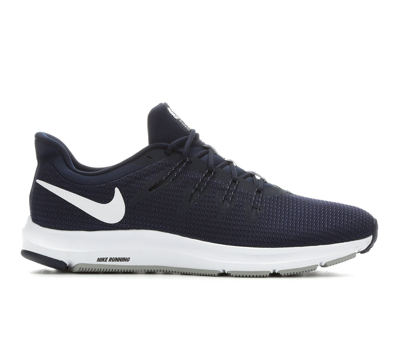 new style Men's Nike Quest Running Shoes Blu/Wh/Gry
