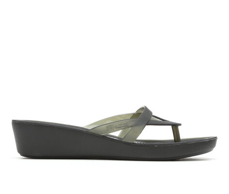 Women's Crocs Isabella Wedge Fl W Wedge Sandals