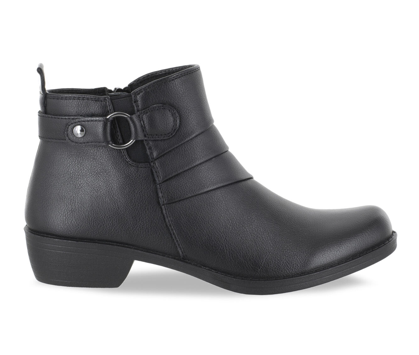 Good Quality Women's Easy Street Shanna Booties Black Smooth