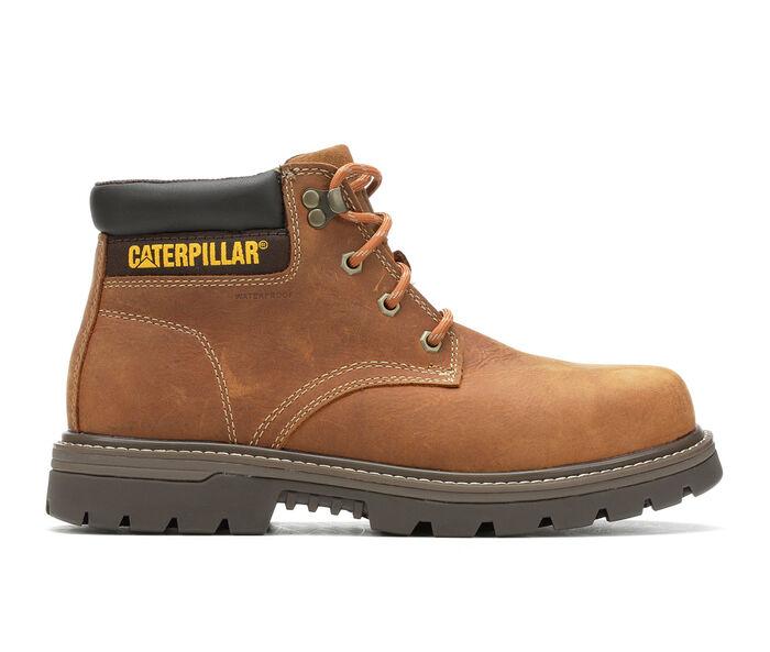 Men's Caterpillar Outbase Waterproof Steel Toe Work Boots