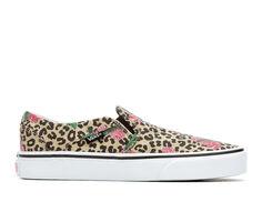 Women's Vans Asher Cheeta Palms Skate Shoes
