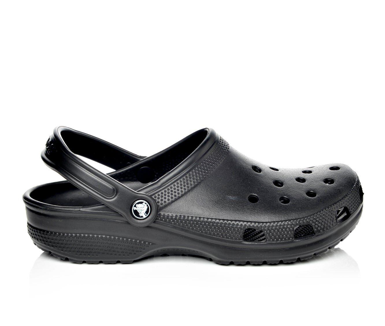 Men's Crocs Classic-Mens Clogs Black