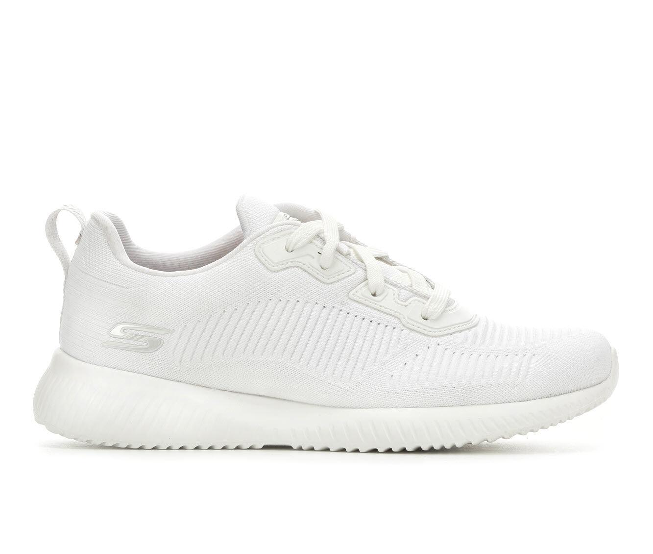 Women's Skechers BOBS Tough Talk 32504 Sneakers White