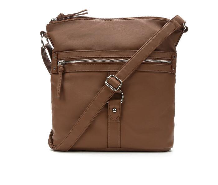 Bueno Of California Multi Zip Crossbody Handbag
