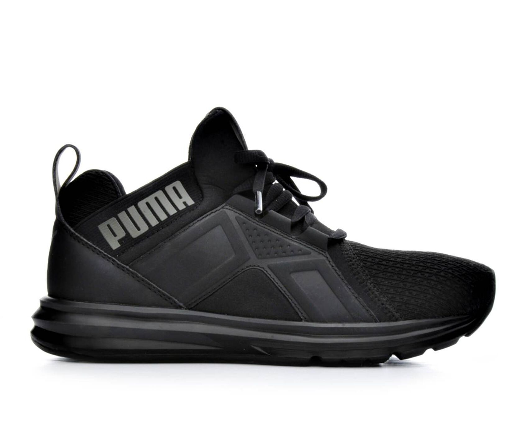 4753458a17 Boys' Puma Big Kid Enzo Jr High Top Slip-On Sneakers | Shoe Carnival