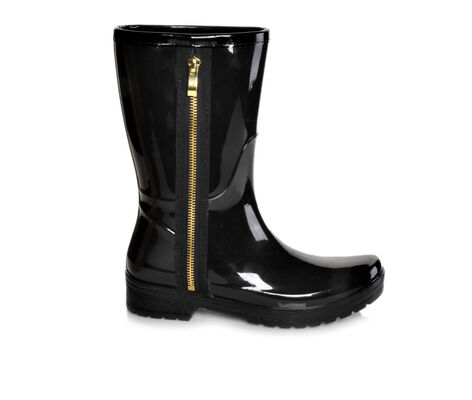 Women's Unlisted Rain Zip Rain Boots