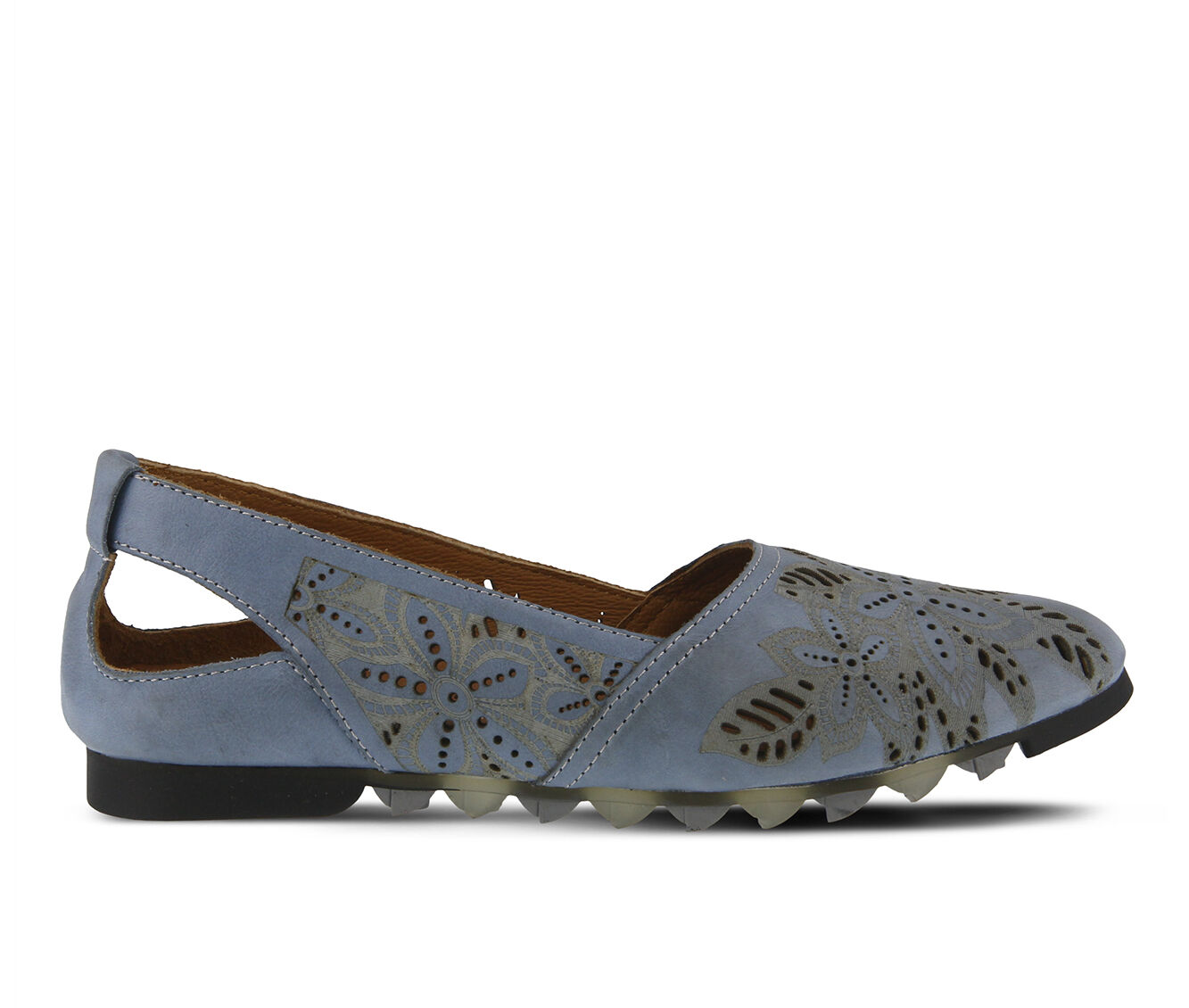 Women's SPRING STEP Alanna Flats Blue