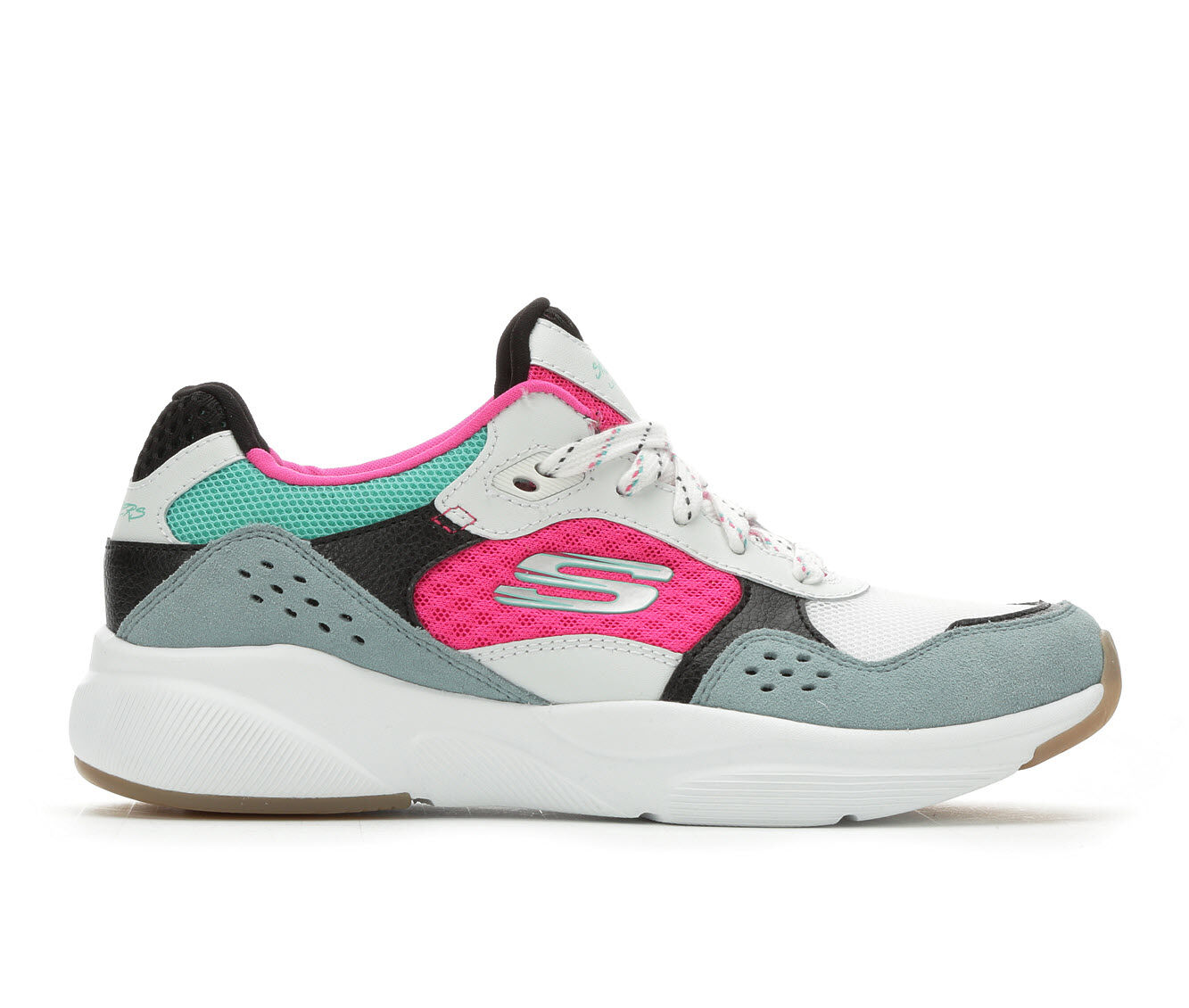 a huge range of Women's Skechers Charted 13019 Sneakers White/Pink/Teal
