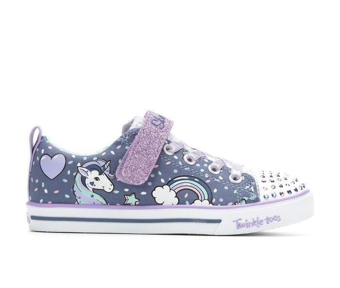 Girls' Skechers Little Kid Unicorn Craze Light-Up Sneakers