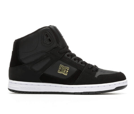 Women's DC Rebound Hi Leather Skate Shoes
