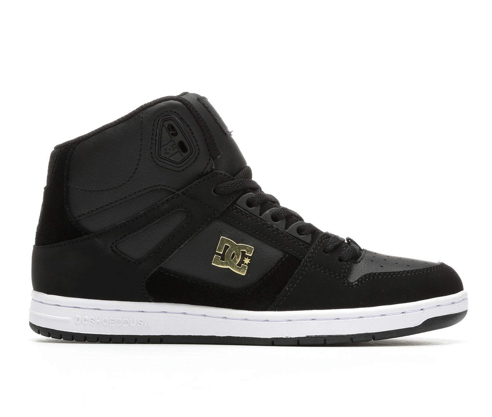 Images Women 39 S Dc Rebound Hi Leather Skate Shoes