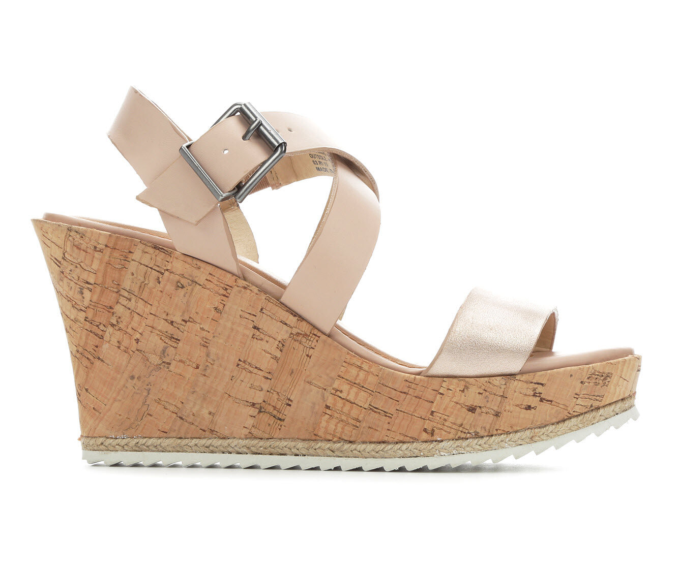 Buy Authentic Women's Y-Not Peppy Wedges Blush