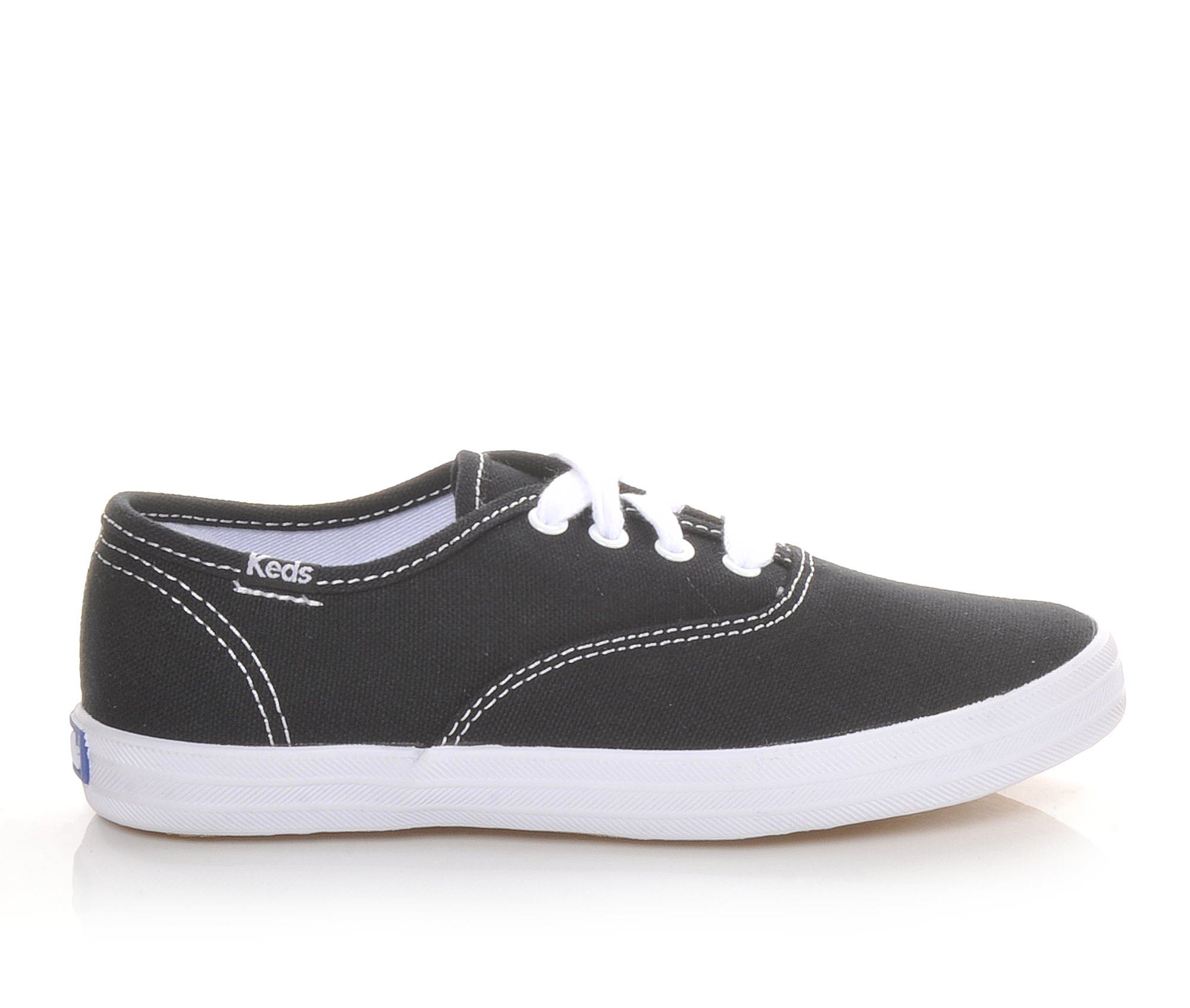 Girls' Keds Champion Ox Oxford Shoes (Black)