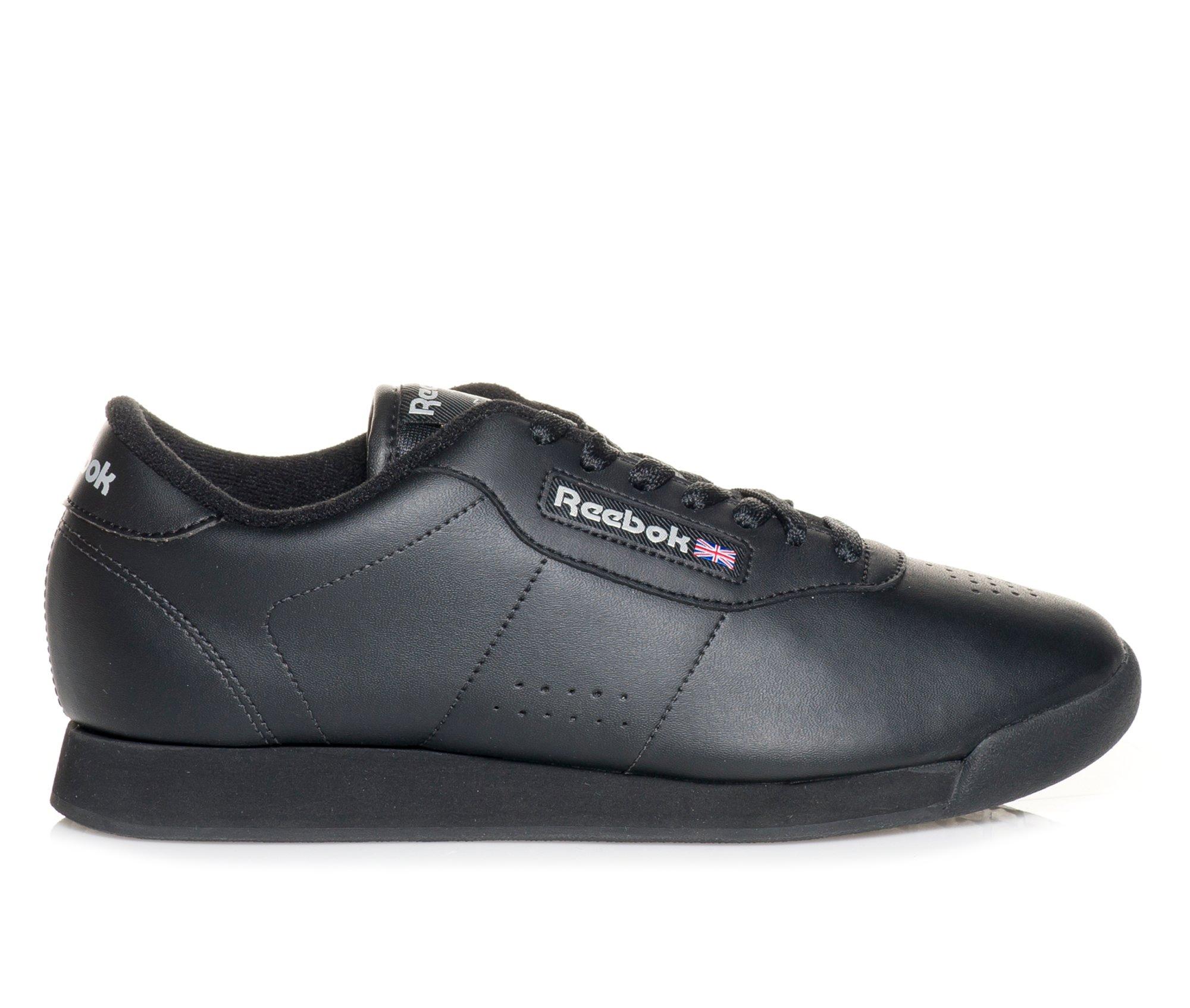 Women's Reebok Princess II Sneakers (Black - Size 7.5) 210172