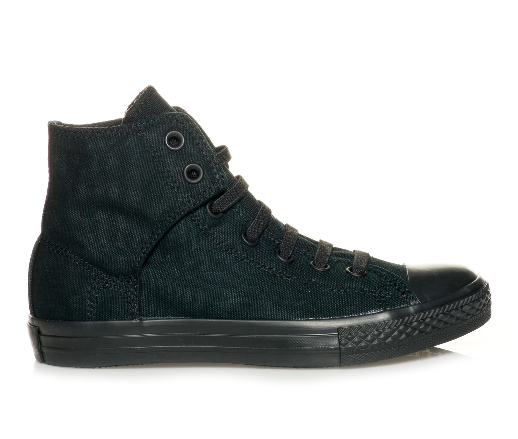 Boys' Converse Chuck Taylor All Star Easy Slip Hi Sneakers (Black)