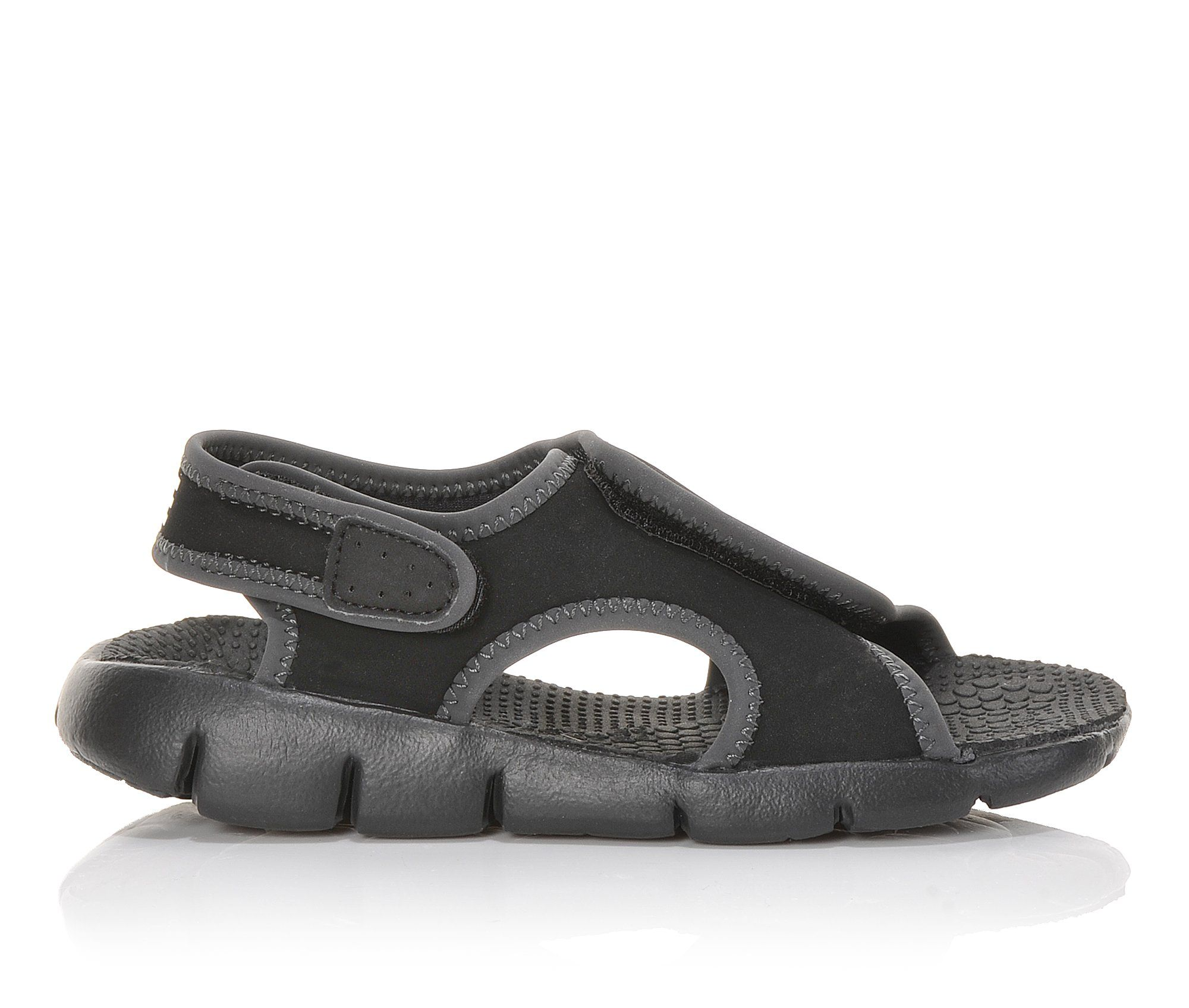 Girls' Nike Sunray Adjust 4 Sandals (Black)