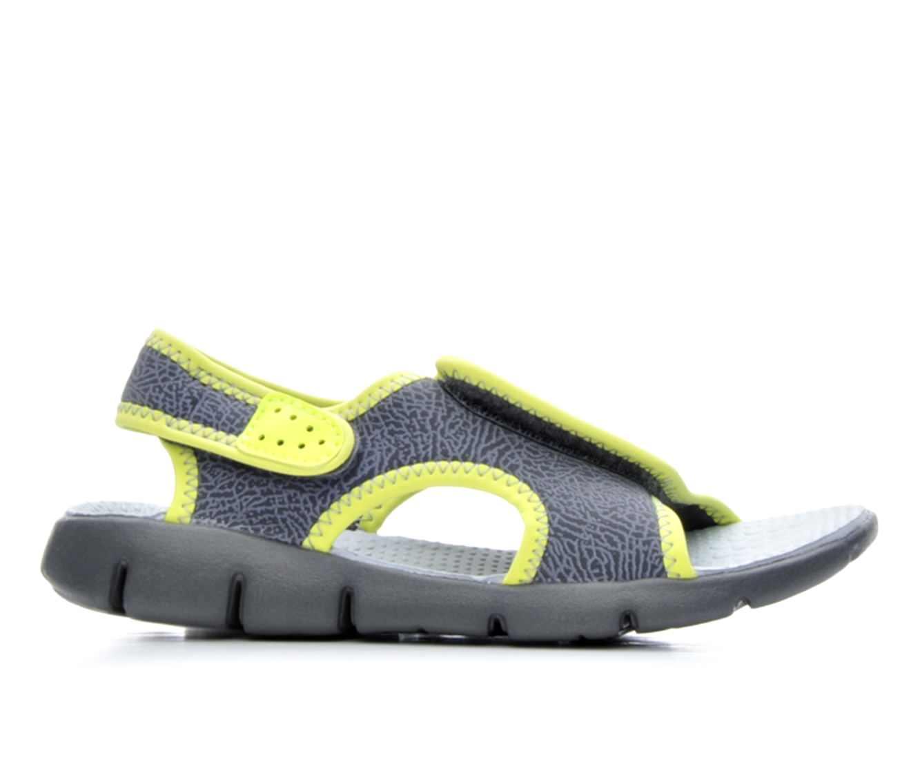 Girls' Nike Sunray Adjust 4 Sandals (Grey)