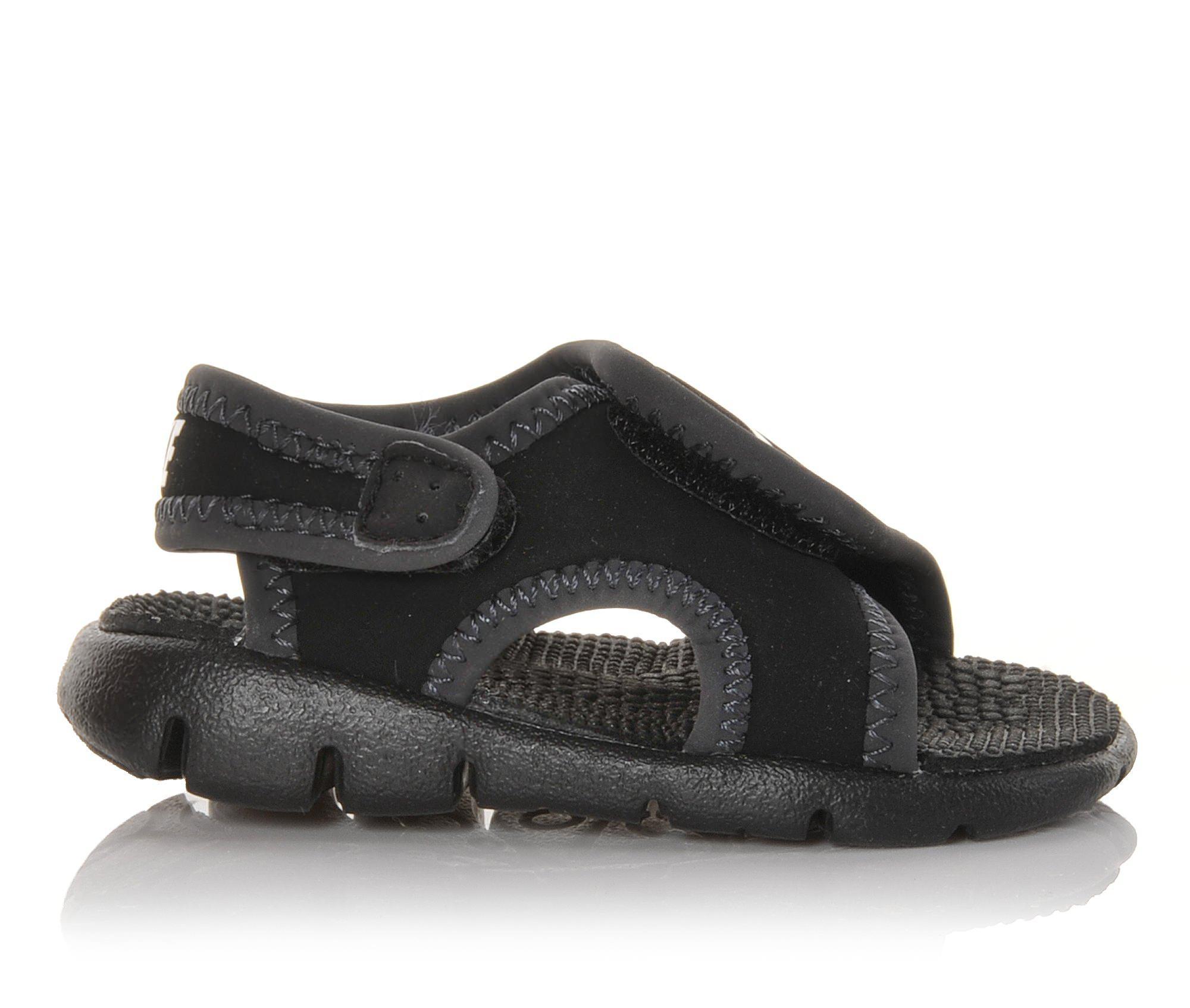 Girls' Nike Baby Sunray Adjust 4 Sandals (Black)