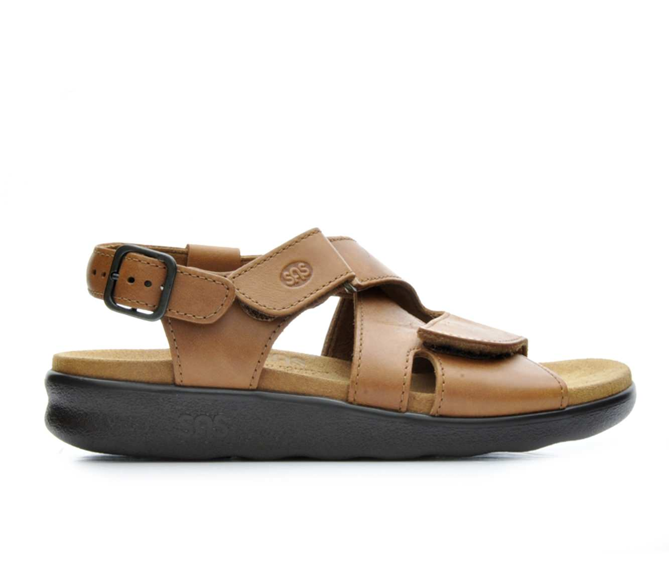 Women's Sas Huggy Sandals (Brown)