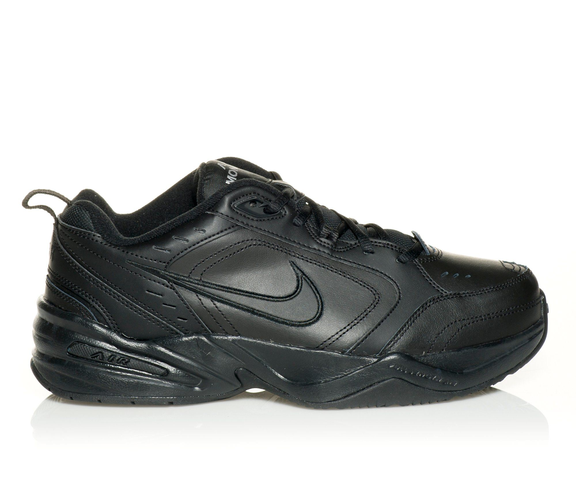 more photos 6d462 f82b3 Mens Nike Air Monarch IV Training Shoe (Black – Size 6.5)