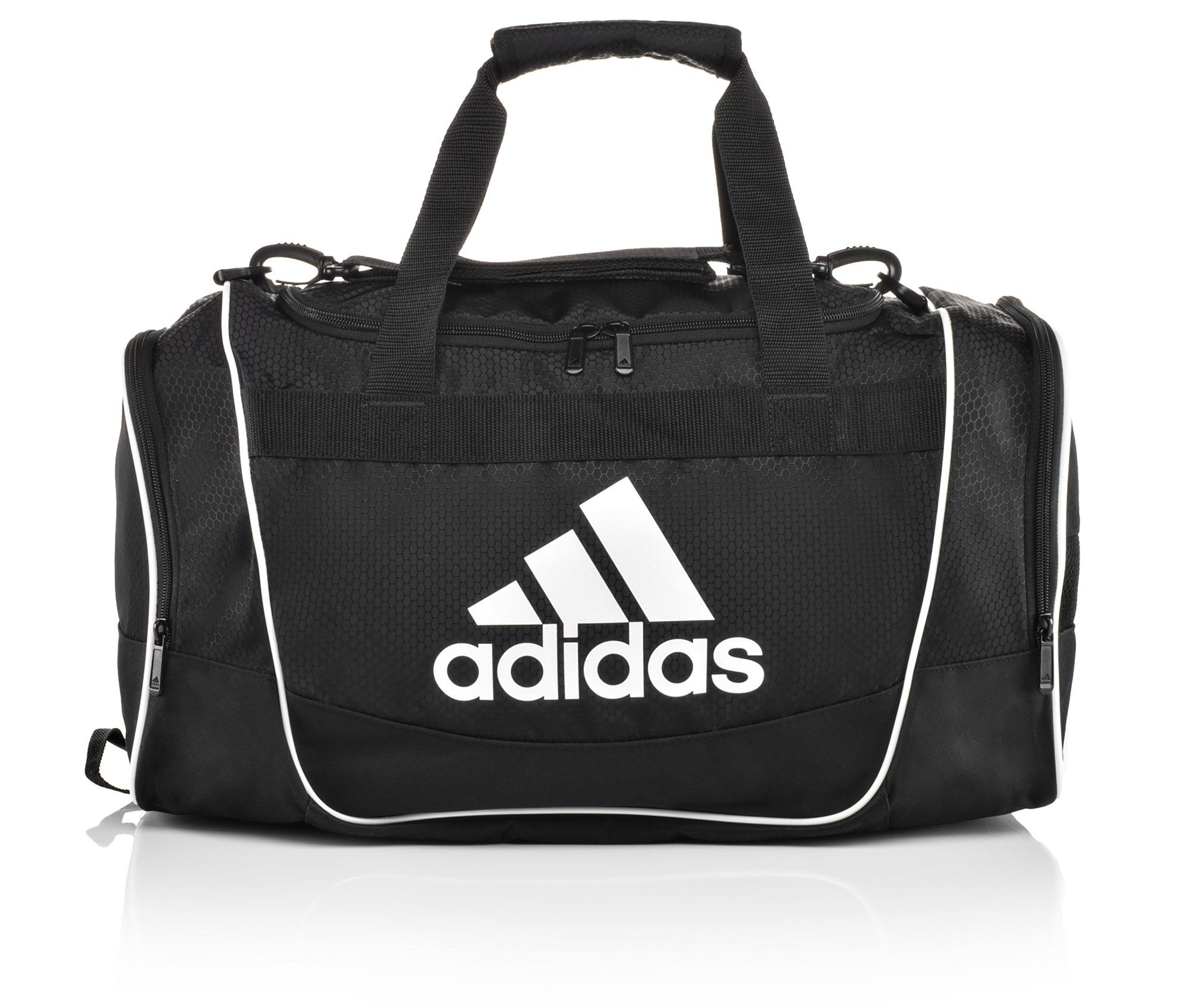 Image of Women's Adidas Defender Small Duffel Bag (Black - Size UNSZ)
